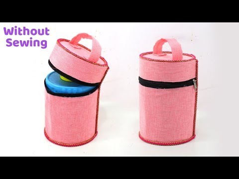 DIY HOMEMADE TIFFIN BAG without Sewing Machine