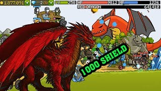 Hạ Gục Rồng Đỏ Với 1000 Giáp   Grow Castle   Top Game Mobile Hay Android, Ios