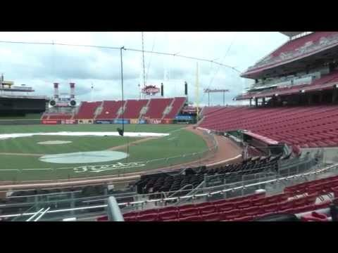 Tour the Reds' Great American Ballpark