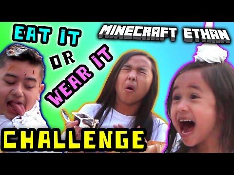 Minecraft ethan challenges