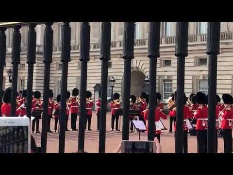 Changing of the Guard Buckingham Palace London MUSIC