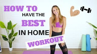 In-Home Workout Struggles? WATCH THIS!! | My Best 8 Tips