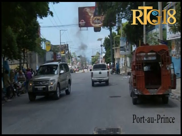 Haïti.- La plupart des activités sont toujours paralysées dans plusieurs quartiers de la capitale