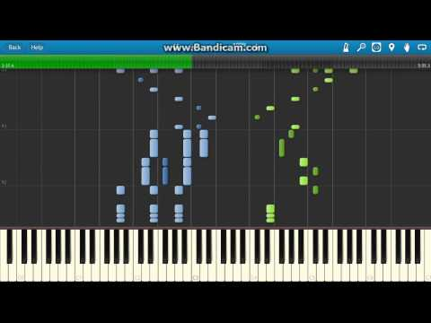 Franz von Suppé : Light Cavalry - Overture piano (Synthesia)