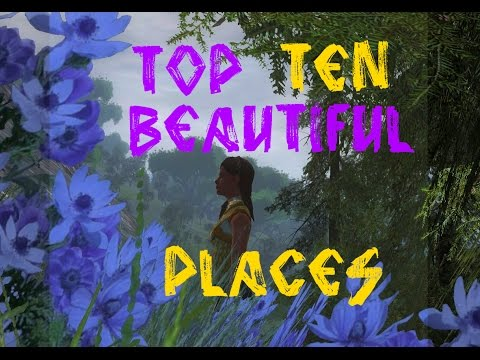 my TOP TEN most BEAUTIFUL places in LOTRO !