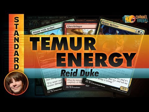 Channel Reid - Standard Temur Energy (Deck Tech & Matches)