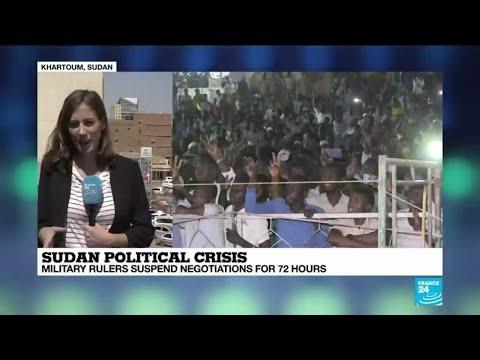 "Sudan political crisis: ""Protesters remain defiant"""