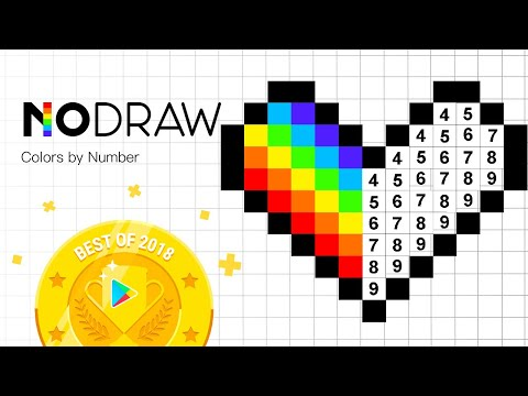 How to Complete a Pixel Dabbing Unicorn in 30 Sec | No.Draw | Color by number| Art Games