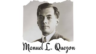 MANUEL L. QUEZON by SARAH S.