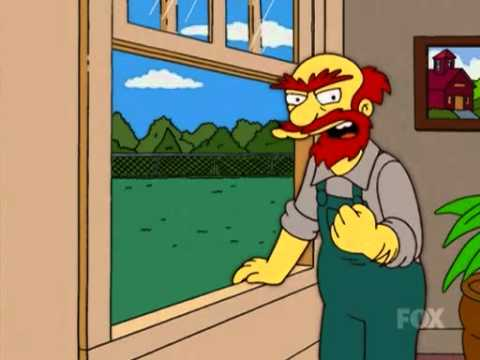 Simpsons willie - damn Scots!