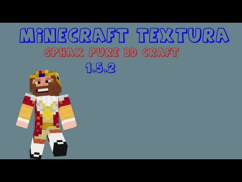 Minecraft textura-Sphax Pure BD Craft 1.5.2