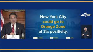 Governor Cuomo Announces Updated COVID-19 Micro-cluster Focus Zones
