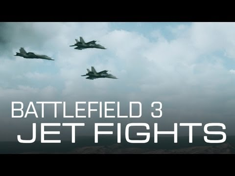 Battlefield 3 - Jet fights