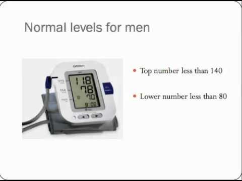 Normal blood pressure for men youtube normal blood pressure for men sciox Choice Image