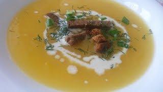 Суп пюре из тыквы - классический рецепт
