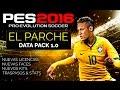 PES 2016 PARCHE  Traspasos, Nuevas licencias, Faces, Kits ...