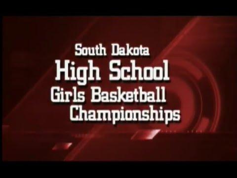 2012 State B Girls Basketball Game 4: Estelline vs Faith
