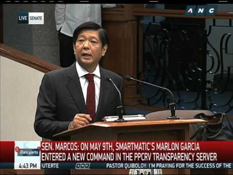 Marcos wants VP last to be proclaimed