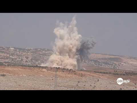 لحظة سقوط صاروخ بالستي روسي على بلدة سرجة في ريف #إدلب  - نشر قبل 2 ساعة