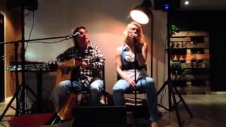 Lotta Lene Acoustic - Sling In Live (Separate ways - cover)