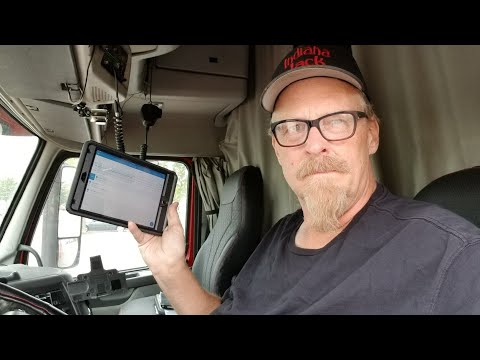 Indiana Jack Installs The Keep Truckin ELD Device In His Volvo Truck
