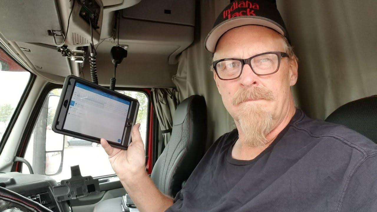 Indiana Jack Installs The Keep Truckin Eld Device In His Volvo Truck Garmin 6 Pin Wiring Diagram