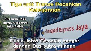 TRANSPORT Express Jaya Kembali Gemilang Di Dunia Lintas, 3 Unit Bus Tranex Jalan Dalam Sehari.
