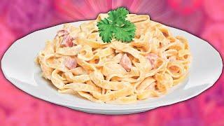 Паста КАРБОНАРА Супер легкий рецепт CARBONARA paste