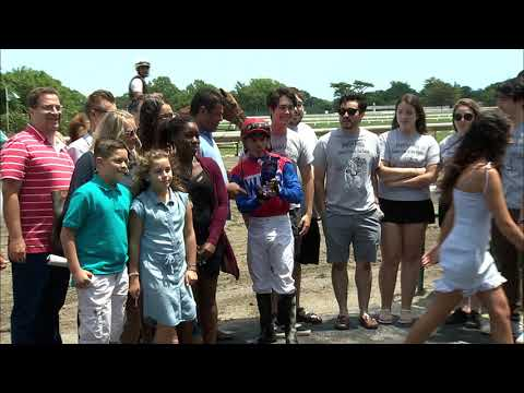 video thumbnail for MONMOUTH PARK 6-22-19 RACE 1