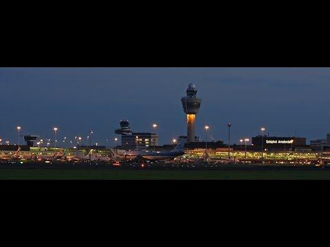 LIVE ATC (Main Tower) + Runway View (06/24) | EHAM (Schiphol, Amsterdam)