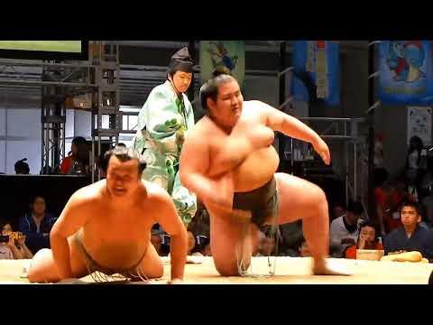 行司さん名言!相撲は平手、プロレスはあっち!初っ切り(ニコニコ超会議2015 Grand Sumo Tour in Makuhari 2015 Spring)