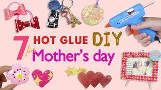 合作| 母親節小禮物全是熱熔膠做的!!/ Hot melt glue DIYs for Mother's day
