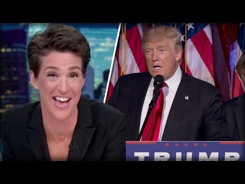 MELTDOWN OF THE NIGHT' BITTER MSNBC NEWS ANCHOR DESTROYED OVER TRUMP'S ELECTION SUCCESS
