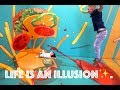 TODDLER VISITS MUSEUM OF ILLUSIONS / LOS ANGELES / HOLLYWOOD