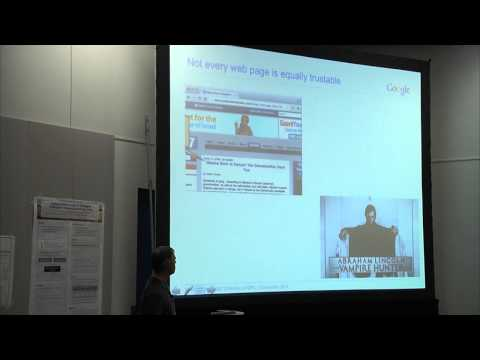 NIPS 2014 Workshop - (Murphy) 4th Workshop on Automated Knowledge Base Construction (AKBC)