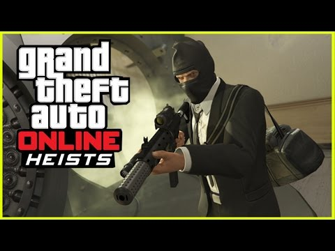 GTA 5 Online Heists - Pacific Bank Heist Mission Gameplay LIVESTREAM (GTA 5 Online fan-made Heists)