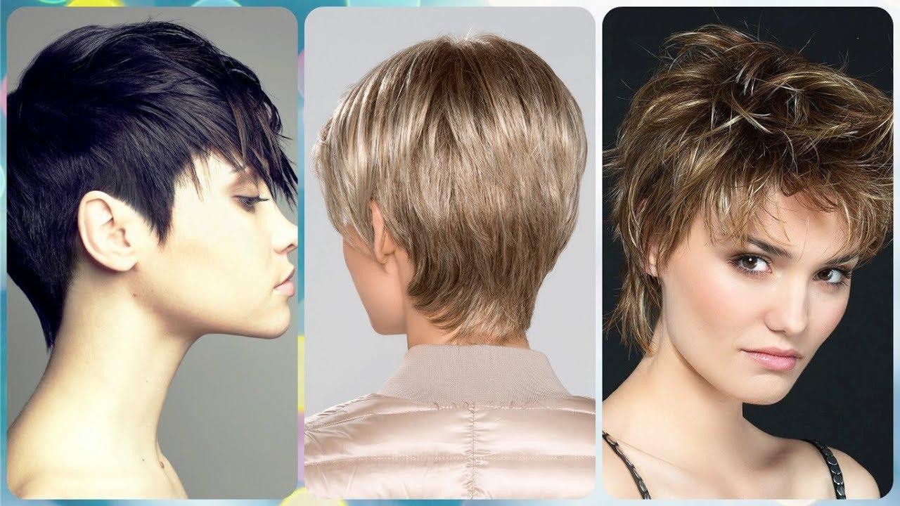 Damen Frisuren Stufiger Bob