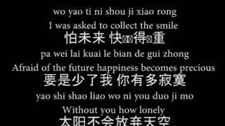 P S  我愛你   Wo Ai Ni  A Lin Pinyin Lyric