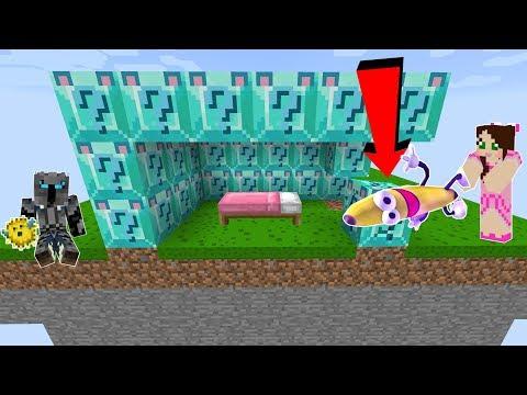 Minecraft: DIAMOND WOLF LUCKY BLOCK BEDWARS! - Modded Mini-Game