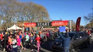 Philadelphia Love Run 2016 Half Marathon (complete start)