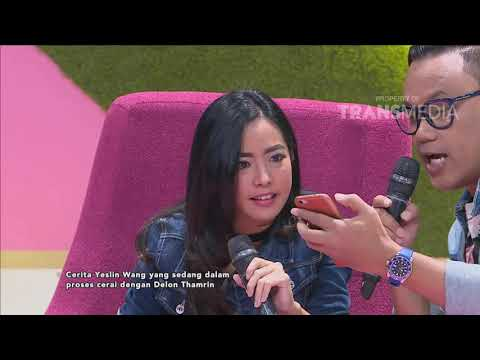 PAGI PAGI PASTI HAPPY - Tanggapan Yeslin Tentang Kedekatan Delon Dengan Putri Juby (17/10/18) Part 4
