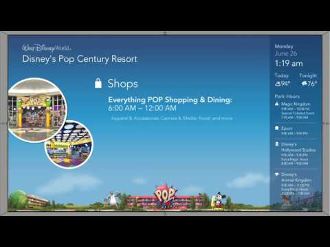 7 Hours of Disney's Pop Century - Resort Channel - Jun 26 2017