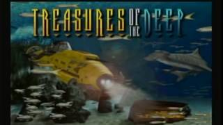 """Treasures of the Deep"" (PS1) demo gameplay. Would have been a cool VR experience."