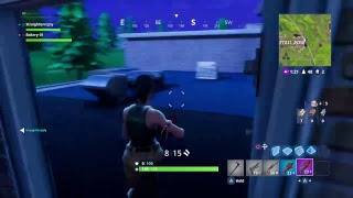 Fortnite Battle Royale trying to get 1st (DUOS)