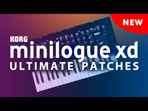 KORG MINILOGUE XD ULTIMATE PATCHES • VOLUMES 1-3