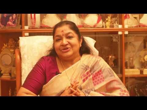 Smt.K.S Chithra wishing