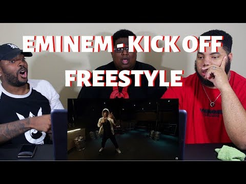 Eminem -  Kick Off  (Freestyle) - REACTION!!!
