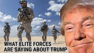 GREEN BERET: What elite forces are saying about Trump