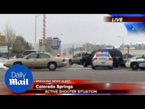 Officers injured in Planned Parenthood shooting in Colorado - Daily Mail
