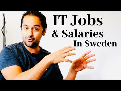 IT Jobs and salaries in Sweden